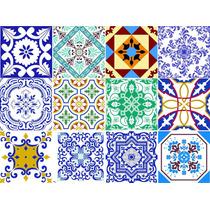 Adesivo Decoração Parede Cozinha Ladrilho Azulejo Portugues