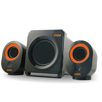 Caixa De Som Speakers Booster Sk-500 Oex 30w Usb P2 Potente