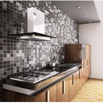 Papel De Parede 3d Para Cozinha Banheiro Pastilhas - Adesivo