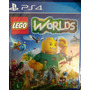 Lego Worlds - Ps4 - Mídia Física
