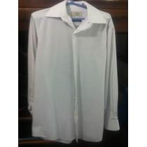 Camisa Brooksfield Branca Nova