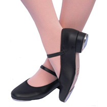 Sapato De Sapateado Feminino Dança Capezio Com Chapinha