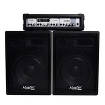 Ritmus : Master Audio Sck-360 Kit De Sonorização Aparelhagem