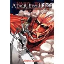 Ataque Dos Titãs - Mangá -panini - Volume 1