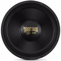 Eros 15 1500w Rms Target Bass 3.0k Falante Medio Grave Sub