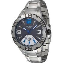 Relógio Masculino Seculus Analógico Com Calendário 23437g0sv