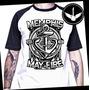 Camiseta Raglan Memphis My Fire Baby Loock Rock Banda