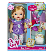 Baby Alive Bons Sonhos Loira A8348