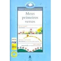 Livro Meus Primeiros Versos Volume 4 Editora Nova Fronteira