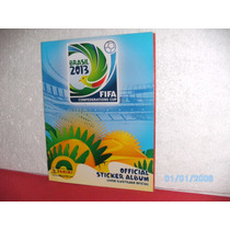 Álbum De Figurinhas - Copa Das Confederações -brasil 2013-fj