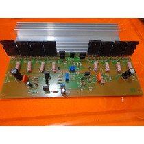 Placa Amplificador 500w Montado/serve Na Cygnus Pa 1800