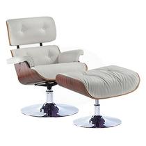 Cadeira Poltrona Puff Charles Eames Home Base Cromada Design