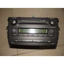 Cd Player Com Mp3 - Toyota Corolla Original 2009 Em Diante