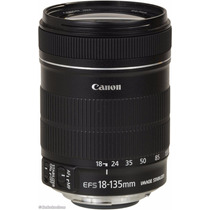 Lente Canon 18-135mm F/3.5-5.6 Is Stm - Pronta Entrega