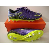 Chuteira Nike Hypervenom Phatal Sg Trava Mista Neymar Rooney