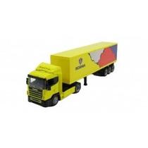 Miniatura Caminhão Scania R124 Conteiner 1:43 New Ray