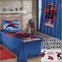 Kit Colcha Simples + Cortina Inf. Homem Aranha Spider Man