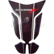 Protetor De Tanque Suzuki Gsx 650f Friso Prata Resinado