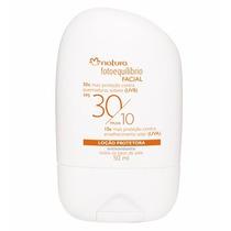 Natura Loção Protetora Facial Fps 30 / Fpuva 10 -50ml