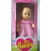 Boneca Meu Amor Estrela Brinquedo Infantil Meu Bebê Presente