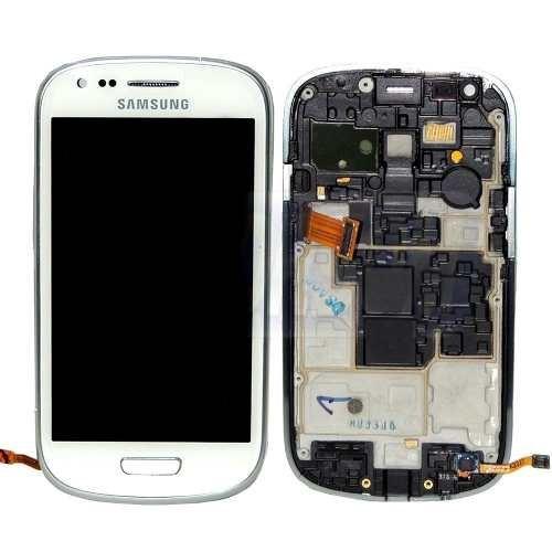 Tela Display Touch Samsung Galaxy S3 Mini Gt I8190 Branco