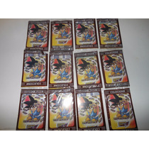 Dragon Bol Gt 12 Envelopes Cartinha Card Para Bater + Brinde