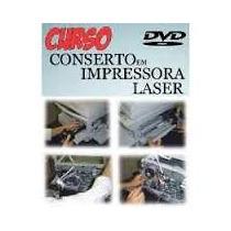 Dvd Curso Manutenção Impressoras Laser Deskjet Envio Grátis