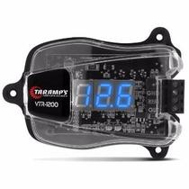Voltímetro Taramps Digital Vtr1200 Display Azul 10,2 A 27v