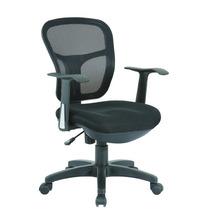 Cadeira Secretaria Tela Mesh Base Nylon Cor Preto