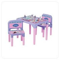 Mesa Com Cadeiras E Tabuleiro Divertido Frozen - Multibrink