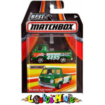 Matchbox Best ´66 Dodge A100 Pickup Lacrado Serie 1 Borracha