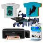 Maquina De Estampar 8x1 Transfer + Camisetas + Impressora