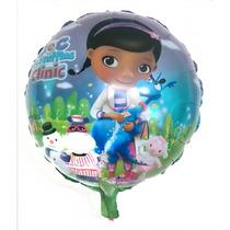 Kit 18un Balão Metalizado Doutora Brinquedos *