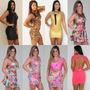 Kit 10 Vestidos Cirrê Estil Labellamafia Atacado Revenda