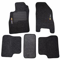Tapete Bordado Para Chevrolet Onix Carpete 5 Peças