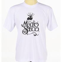 Camiseta Camisa Branca Personalizada Banda Reggae Mato Seco