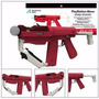 Sony Sharp Shooter Metralhadora Para Playstation 3 Move Ps3