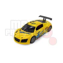Carro De Controle Remoto Audi R8 Amarelo Runners Motorsport
