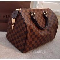 Bolsa L Vuitton Autentica Speedy 35
