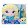 Almofada Boneca Elsa Inkoos Frozen Disney Pinte E Lave Dtc