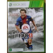 Jogo Fifa 13 Totalmente Em Português Ntsc Original Xbox 360