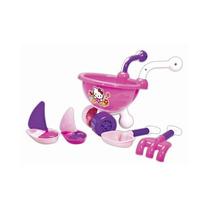 Carriola Maluca Hello Kitty Brinquedo Infantil Praia Jardim
