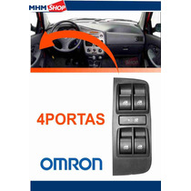 Interruptor Botão Vidro Elétrico Palio Strada Siena 4portas