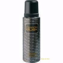 Desodorante Cannon Musk Aerosol - Importado - 250ml