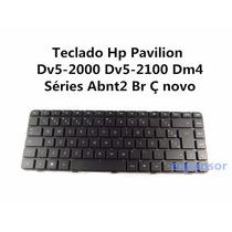 Teclado Hp Pavilion Dv5-2000 Dv5-2100 Dm4 Séries Abnt2 Br Ç