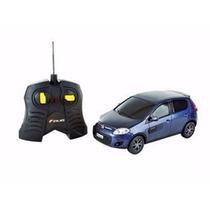 Carro R/c Fiat Novo Palio Sporting Azul 1:18 Cks Toys