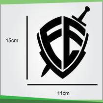 Adesivo - Escudo Da Fé André Valadão - 5 Unidades