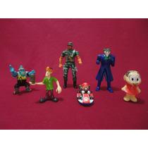 Brinquedos Socooby Doo, Super Mario, Monica, Coringa E Cia