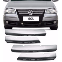 Aplique Cromado Grade Dianteira Gol G4 2006 Até 2008
