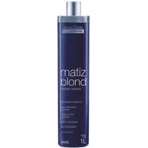 Maxiline Shampoo Matiz Blond 1 Litro